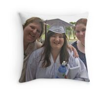 My Youngest Daughter Graduates From High School Throw Pillow