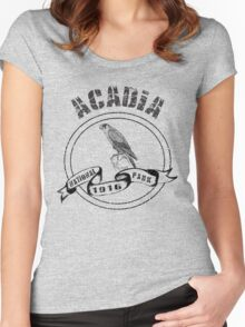 Acadia National Park Women's Fitted Scoop T-Shirt