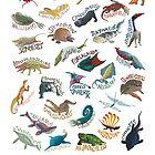 Dinovember Without Dinosaurs 2015 by Franxurio