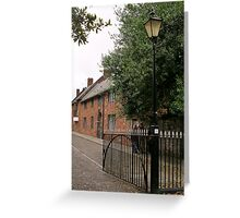 Cathedral Close Greeting Card