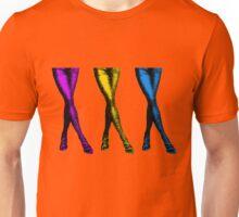 Sexy Colorful Legs, Pop Art Unisex T-Shirt