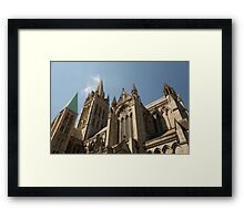 Truro Cathedral Framed Print