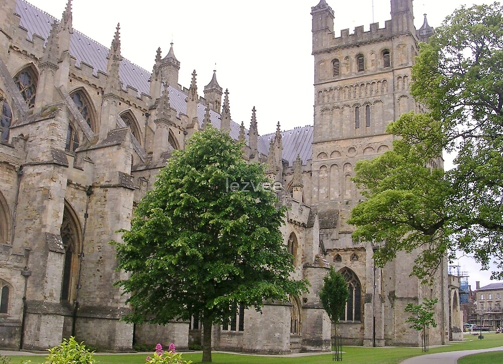 Exeter Cathedral by lezvee