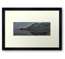 Levers Water Reflections Cumbria Framed Print