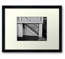Short Walk Framed Print