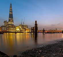 The Shard at Dusk by Gary Rayner