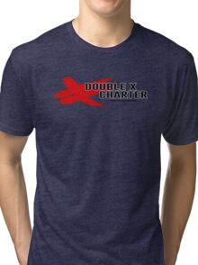 Double X Charter  Tri-blend T-Shirt