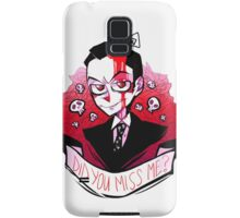 James Moriarty - Miss me? Samsung Galaxy Case/Skin