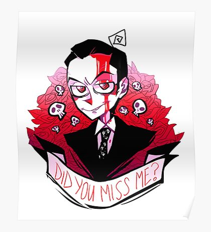 James Moriarty - Miss me? Poster