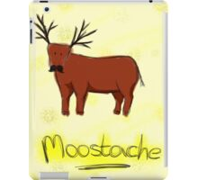 Moostache iPad Case/Skin
