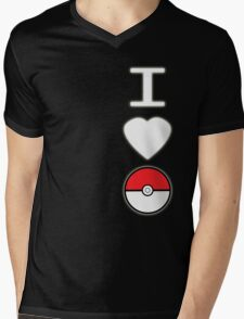 I Heart Pokemon (for dark backgrounds) Mens V-Neck T-Shirt
