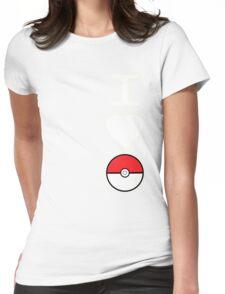 I Heart Pokemon (for dark backgrounds) Womens Fitted T-Shirt
