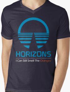 Horizons - I Can Still Smell The Oranges (Dark Colors) Mens V-Neck T-Shirt