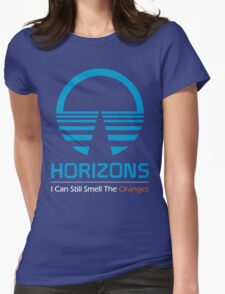 Horizons - I Can Still Smell The Oranges (Dark Colors) Womens Fitted T-Shirt