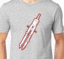 Old School Art Tool Compass  Unisex T-Shirt