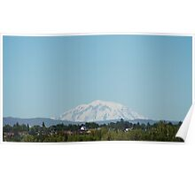 Mt Adams from Yakima Poster