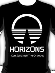 Horizons - I Can Still Smell The Oranges (All White Design) T-Shirt