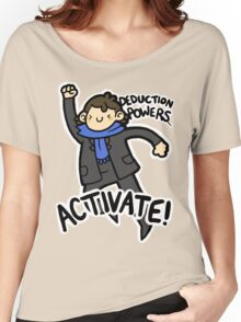 Deduction Powers Women's Relaxed Fit T-Shirt