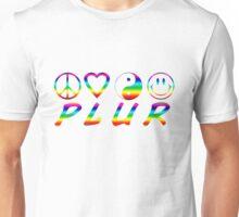 PLUR - Rainbow Unisex T-Shirt