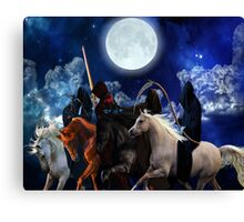 Four Horsemen of the Apocalypse Poster Canvas Print