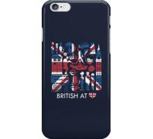 British at heart iPhone Case/Skin