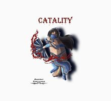 Mortal Kombat Catality / Kitana Cat Illustration. Unisex T-Shirt