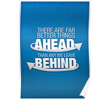 Better things ahead Poster