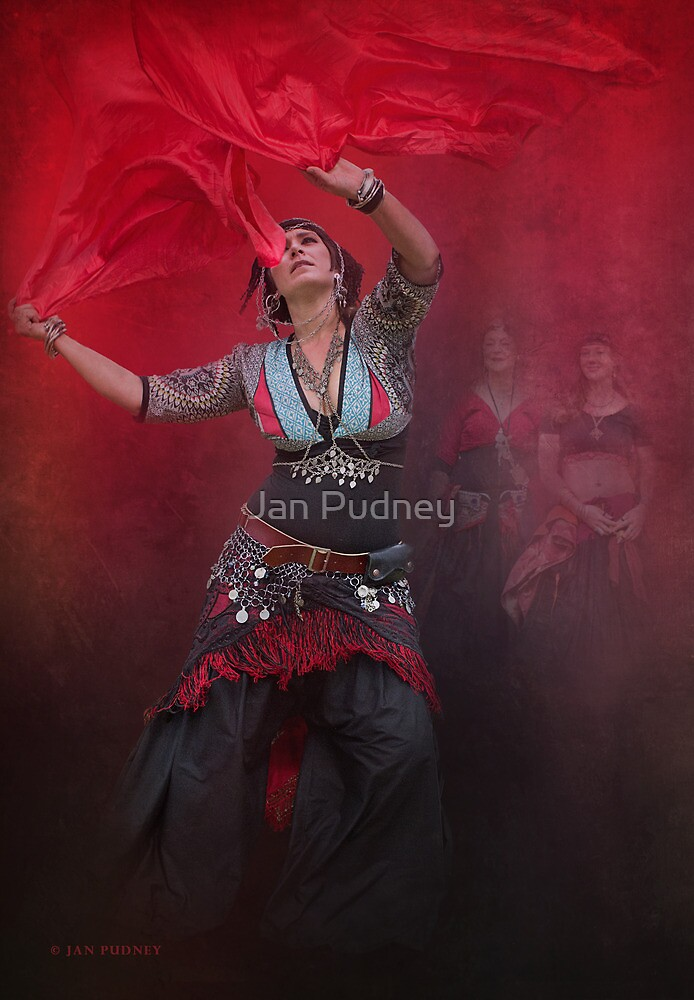 Dance with scarves by Jan Pudney