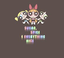 Powerpuff Girls Pastel Ingredients Unisex T-Shirt