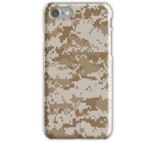 Desert MARPAT iPhone Case/Skin