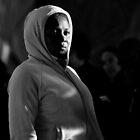 Light in Winter - Street Theatre Portrait #1 by Rhoufi