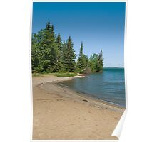 Warm Sunny  Beaches Poster