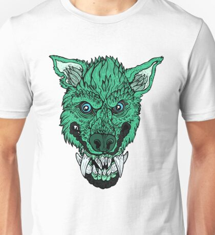 Werewolf- Sea Green Unisex T-Shirt