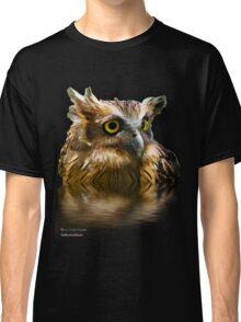 The Buffy Fish Owl (Bubo ketupu) TShirt Classic T-Shirt