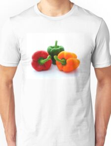 Three Bell Peppers Unisex T-Shirt