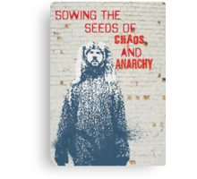 Sowing the Seeds Canvas Print