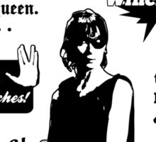 Charlie Bradbury Quotes Sticker