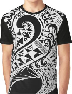 Tribal Art Vector - Version Black Graphic T-Shirt