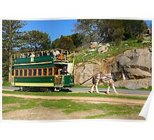 Karni and the Tram, Granite Island. Poster