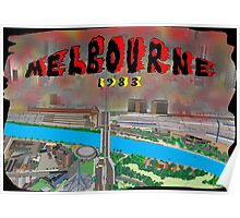 Melbourne on Fire Poster