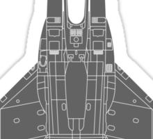 McDonnell Douglas F-15 Eagle Sticker