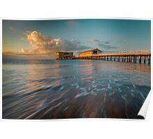 A Cool Winter's Morning Sunrise At Queenscliff Poster