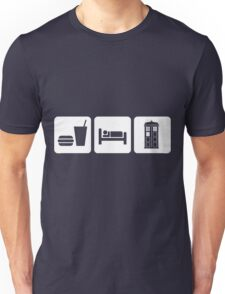 Eat Sleep and Doctor Who Unisex T-Shirt