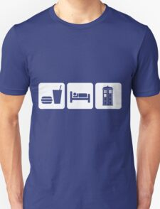 Eat Sleep and Doctor Who T-Shirt