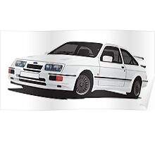 Ford Sierra RS 500 Cosworth Poster