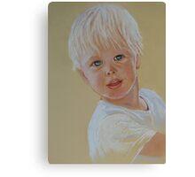 Little Charmer----- Jorden Canvas Print