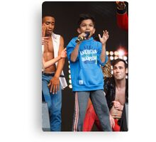 Thriller Live on stage in Trafalgar Square Canvas Print