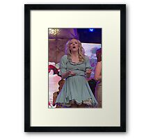 Peter Pan on stage at West End Live Framed Print