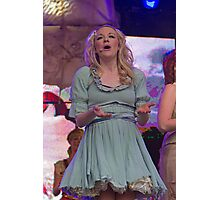 Peter Pan on stage at West End Live Photographic Print