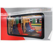 train window Poster
